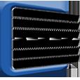 Window blinds for Essex Logo